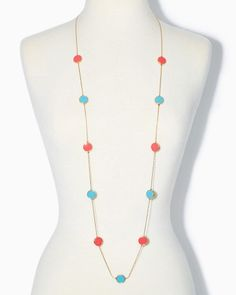 Dock Party Dot Necklace | Jewelry Overboard | charming charlie