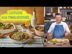 3 egyszerű kaja tonhalkonzervből 🐟 - YouTube Fish, Kitchen, Street, Beverages, Youtube, Cooking, Pisces, Kitchens, Cuisine