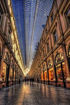 Mall corridor Brussels