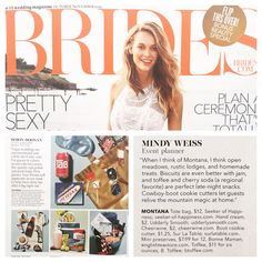 Yay! We are featured in BRIDES magazine! #gift #favors #btoffee
