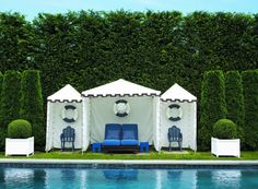 A poolside paradise...