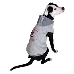 South Carolina Gamecocks Little Earth Pet Hooded Crewneck Football Shirt -  L 535692c6f