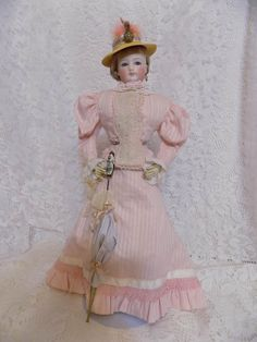 "Antique 16"" French Fashion Jumeau FG Doll 