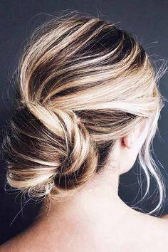 30 Bridesmaid Updos - Elegant And Chic Hairstyles ❤ See more: http://www.weddingforward.com/bridesmaid-updos/ #wedding