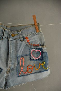 All SIZES High Waist Destroyed Boyfriend Jeans Distressed and Totally Patched Jeans Women's size 26 27 28 High Waisted Mom Jeans// all sizes Levis High Waisted Jeans, Denim Cutoff Shorts, Patched Jeans, High Jeans, Women's Jeans, Vintage Levis Jacket, Levis Jean Jacket, Vintage Jeans, Levis Short