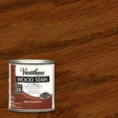 Varathane 1/2 pt. Red Mahogany Wood Stain-266272 - The Home Depot