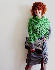Crochet Virus Granny Shawl