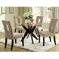 Jensen Round Glass Dining Table | House Inspiration | Pinterest ...