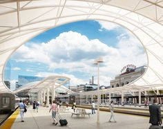Union Station in Denver by Skidmore, Owings & Merrill