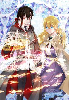 Queen Anime, Anime Princess, My Princess, Romantic Anime Couples, Anime Couples Manga, Novel Characters, Anime Characters, A Darker Shade Of Magic, Anime Korea