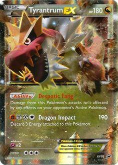 Pokemon X & Y Promo Single Card Rare Holo Tyrantrum-EX XY70 Pokemon Center http://www.amazon.com/dp/B015P17A7O/ref=cm_sw_r_pi_dp_3nTSwb0J2VJGA