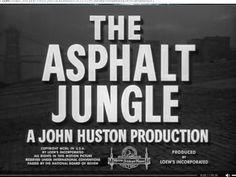 La jungla de asfalto. The asphalt jungle. 1950