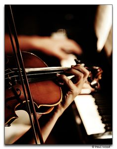 without a doubt my favorite instrumental combination -- piano and violin