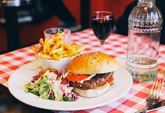 Sunday Burgers at Cafe des Anges, Paris