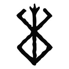 Berserk - Brand Of Sacrifice - Outlaw Custom Designs, LLC Your source for unique and custom Decals, T-Shirts, Hats and Embroidery. Viking Tattoo Symbol, Norse Tattoo, Viking Tattoo Design, Wiccan Tattoos, Inca Tattoo, Thai Tattoo, Maori Tattoos, Tribal Tattoos, Viking Symbols