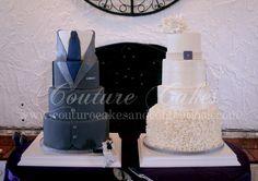 Ashton & Nathan's Wedding & Groom's Cakes.