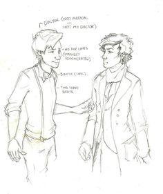 wholock by vforvictorya - sherlock meets the doctor