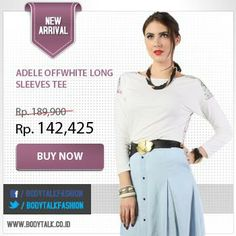 Get 25% discount for this New Arrival collection. Grab it fast ladies >> www.bodytalk.co.id