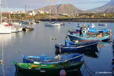 Another view of Las Galletas harbor in Arona, South Tenerife
