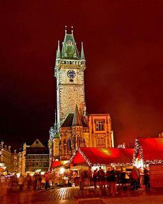 Christmas Market in Prague's Old Town Square - Hynek Moravec (Magnificent PHOTO!!!)