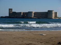 Castle by the Sea. Kiszkalesi, Turkey