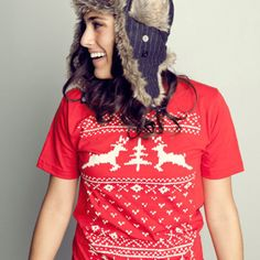 Tacky Christmas sweater t-shirt