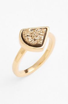 Marcia+Moran+Drusy+Stone+Ring+available+at+#Nordstrom