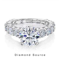 3ct Diamond Ring, Single Diamond Necklace, Diamond Engagement Rings, Diamond Jewelry, Diamond Bar, Silver Wedding Bands, Thing 1, Delicate Rings, Beaded Rings