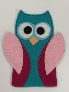 Owl Hand Puppet on Etsy, £7.00