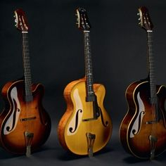 The Vienna Archtop - Scharpach Master Guitars