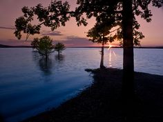 Sunset, DeGray Lake State Park, Arkansas