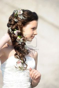 Google Image Result for http://us.123rf.com/400wm/400/400/evdoha/evdoha1207/evdoha120700199/14308510-girl-with-a-wedding-hairstyle-with-flowers.jpg