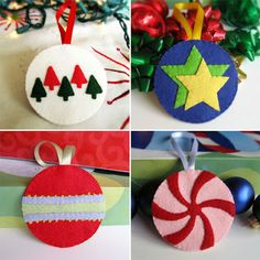 Dimensional star craft 1 hristmas ornaments i would enjoy felt christmas decorations homemade christmas decorationsfelt christmas ornamentsdiy solutioingenieria Gallery