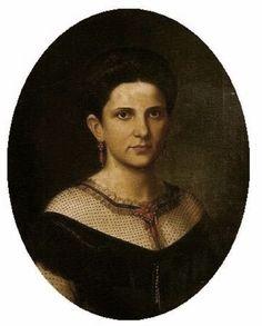 Baronesa da Soledade ,Teresa Portela de Sousa Leão, 1870, por Karl Ernst Papf