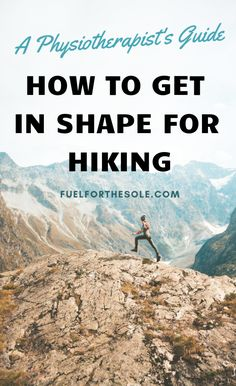 We have put together the ultimate list of exercises for the best workout plan to train for hiking & backpacking trips. Use this guide for motivation to get in shape, lose weight & build lower body muscle & strength for better hiking outdoors. Fitness Hacks, Fitness Workouts, Fun Workouts, Men's Fitness, Workout List, Best Workout Plan, Ultimate Workout, Thru Hiking, Camping And Hiking