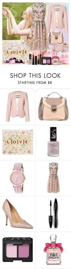 """""""Pastel"""" by vernisafira ❤ liked on Polyvore featuring Hostess, By Malene Birger, WALL, Rimmel, Valentino, Kate Spade, Lancôme, NARS Cosmetics, Juicy Couture and Gauge"""
