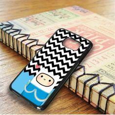Blue Chevron Finn Samsung Galaxy S6 Edge Case