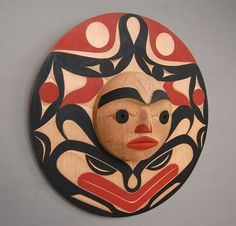 Quintana Galleries: Northwest Coast Masks - Andy Wilbur Peterson, Skokomish
