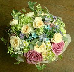 花ギフトのプレゼント【BFM】 優しいね! そんなフラワーアレンジメント http://www.basketflowermarkets.com