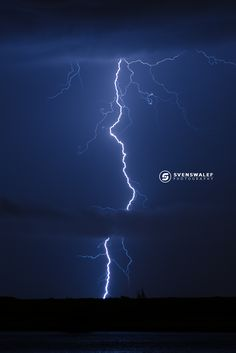 Electric boogie - Electric discharge from cloud to ground better known as a CG lightning strike, during a strong thunderstorm in the outskirts of Spijkenisse the Netherlands