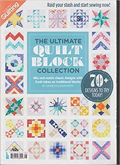 Love Patchwork & Quilting The Ultimate Quilt Block Collection Magazine 2016: Amazon.com: Books