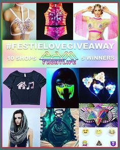 Have you already entered out awesome giveaway?  GIVEAWAY ALERT!! 5 LUCKY WINNERS WILL BE CHOSEN TO WIN SOME AMAZING PRIZES FROM de following shops: @pop_creations @gooddaize @dazedanddyedco @emojifriends @theglowstrobe @trulylumi @rolitacouture @moonwarddreams @wanderndaze @blazedandconfused.us  PLEASE FOLLOW ALL THE RULES OR YOU WILL BE DISQUALIFIED:  follow & tag all accounts: @edmfrontlife @pop_creations @gooddaize @dazedanddyedco @emojifriends @theglowstrobe @trulylumi @rolitacouture…