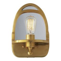 Westbury Mirrored Sconce - Wall Lamps / Sconces - Lighting - Products - Ralph Lauren Home - RalphLaurenHome.com