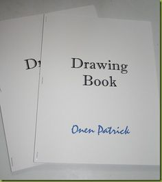 Make a drawing book to send to your Compassion kids! Great idea from www.bloggingfromtheboonies.com