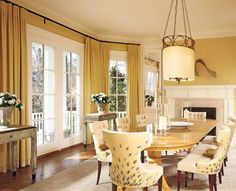 Traditional Dining Room by Thomas Pheasant in Bethesda, Maryland