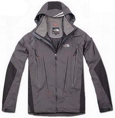 North Face Triclimate Jacket Clearance Men Grey T036