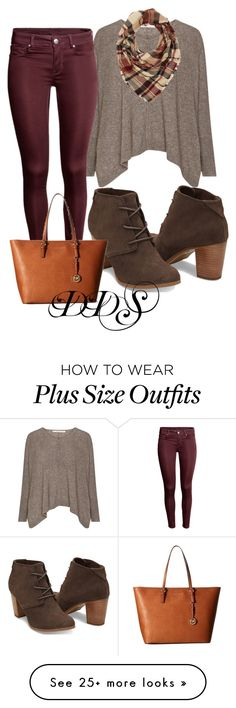 """""""Giving Thanks"""" by donna-duggan-sargeant on Polyvore featuring Charlotte Russe and MICHAEL Michael Kors"""