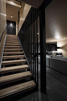 mens interiors www. Masculine Interior, Stairs, Cottage, Mansions, Staircases, Interior Design, Architecture, Wood, Basement