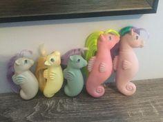 My Little Pony Seahorses Sea Ponies Sun Shower Sunshower ? Htf G1 Vintage