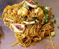 Japanese food yakisoba